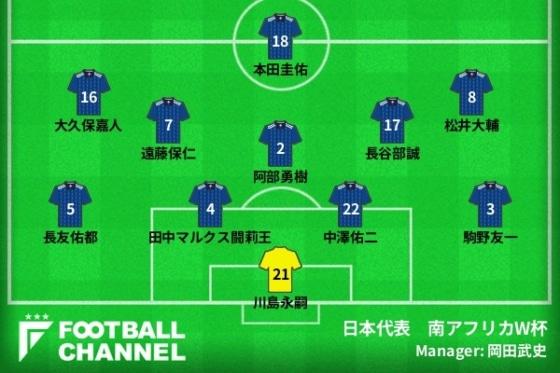 日本代表、背番号2の系譜。内田篤人に阿部勇樹…W杯でキーマンとなった選手たち