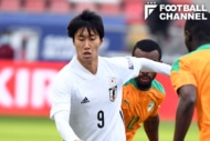 日本代表の鎌田大地【写真:日本サッカー協会】