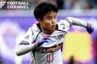 広島戦でJ1リーグデビューを果たしたFC東京の久保建英